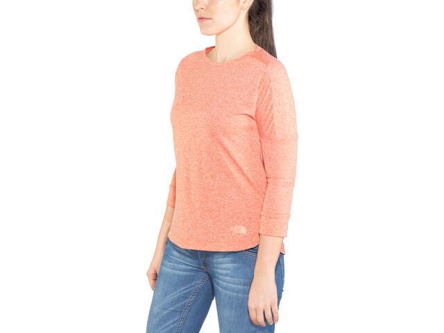 The North Face Inlux Maglietta con maniche a 3/4 Donna, rosso